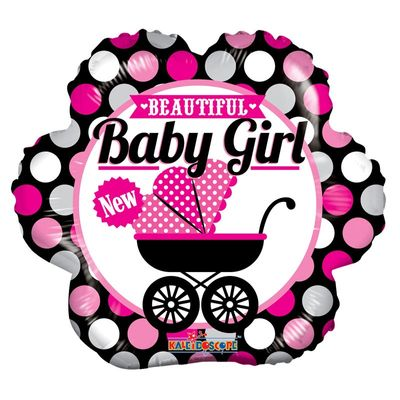 18″ Beautiful Baby Girl Balloon