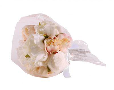 Ivory Peony Bouquet [30 cm]