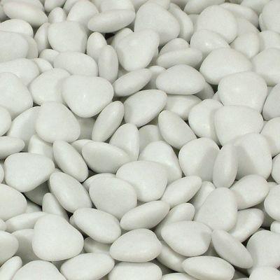White Mini Heart Dragees