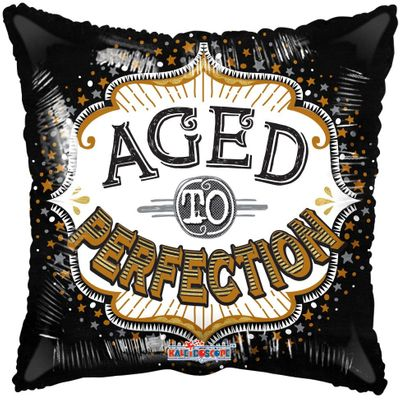 Aged To Perfection Birthday Balloon (18 inch)