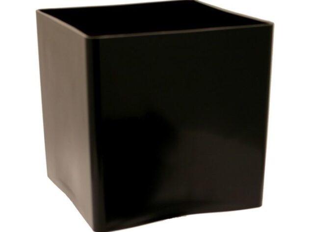 Black Acrylic Cube [10 cm]