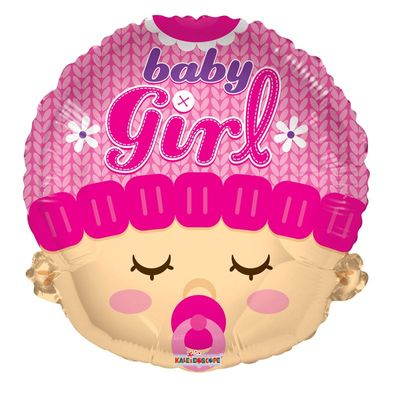 Baby Girl Foil Balloon