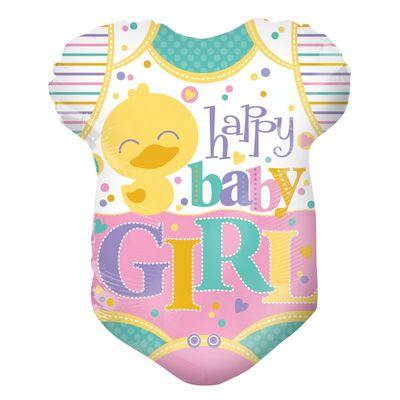 Baby Girl Grow Shape Foil Balloon