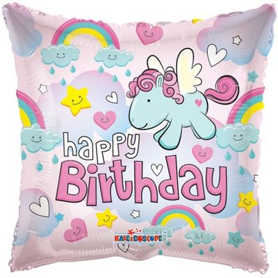 Birthday Pony Balloon