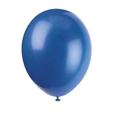 Blue Party Balloons [Pack of 10]