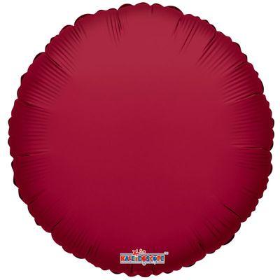 Burgundy Round Balloon