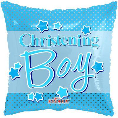 Baby Boy's Christening Balloon