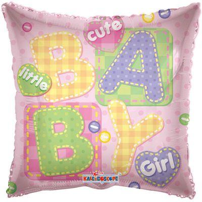 Cute Little Baby Girl Foil Balloon