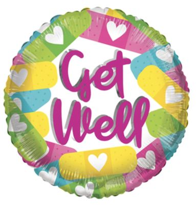 ECO Balloon – Get Well Band Aids (18 Inch)