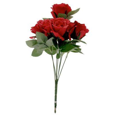 Eden Red Rose Bunch x 7
