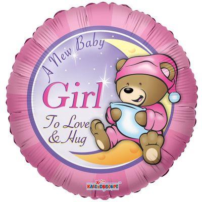 A New Baby Girl Balloon
