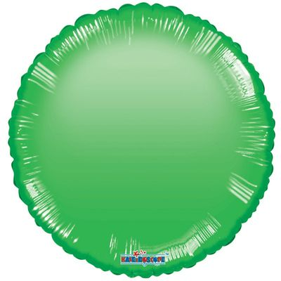 Green Circle Gellibean Balloon