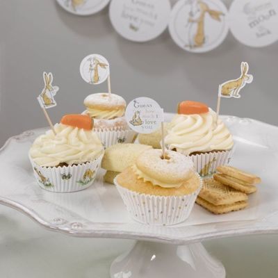 Guess How Much I Love You – Cupcake Picks – 20