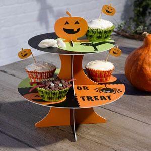 Happy Halloween Cake Stand