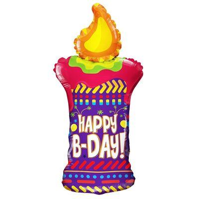 Happy Birthday Candle Balloon