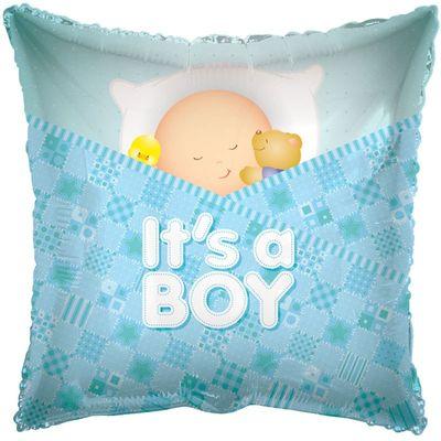 Its a Boy Square Balloon