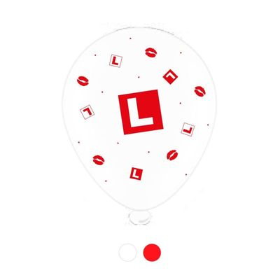 L Plate Hen Party Balloons (8 pack)