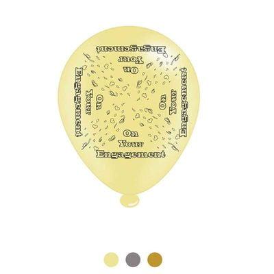 Engagement Latex Balloons x8