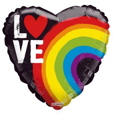"""Love"" Rainbow Balloon [18 Inches]"