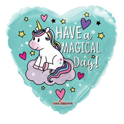 18″ Unicorn Have a Magical Birthday Balloon