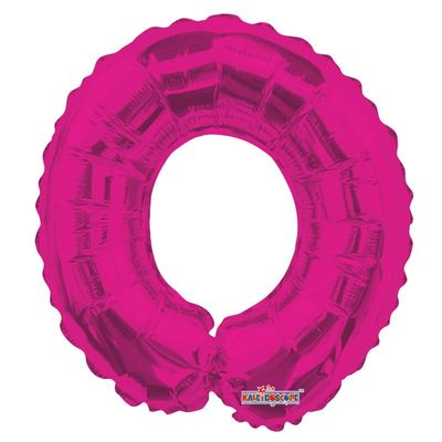 Number 0 Balloon in Pink 14inc