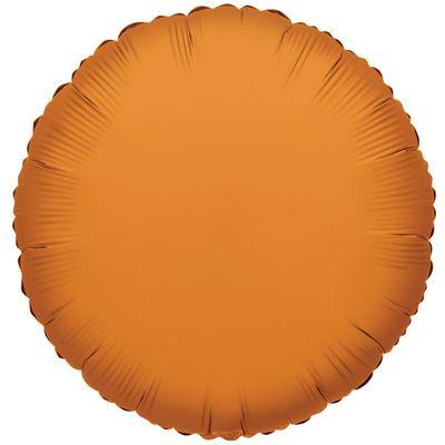 Orange Circle Balloon