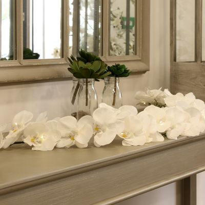 White Orchid Garland [150 cm]