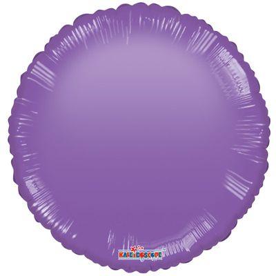 Purple Circle Gellibean Balloon