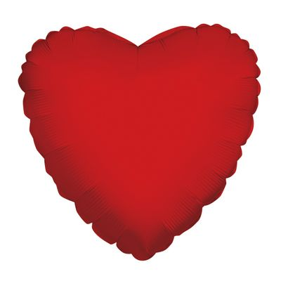 Red Heart Balloon [18 Inches]