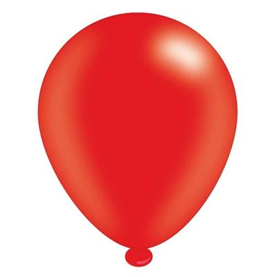 Party Balloons Red [Pack of 8]