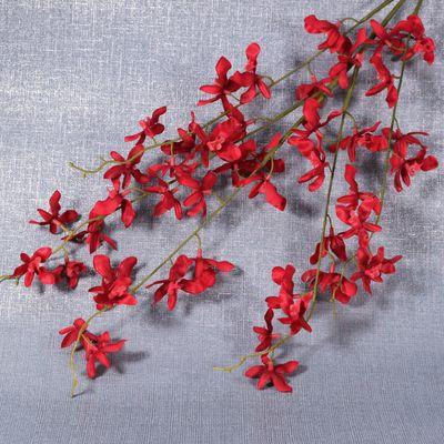 Red Oncidium Orchid Spray
