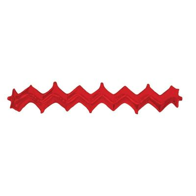 Red Zig Zag Balloon [Pack of 5]