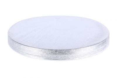 Round Silver Double Thick Cake Board [14 Inches]