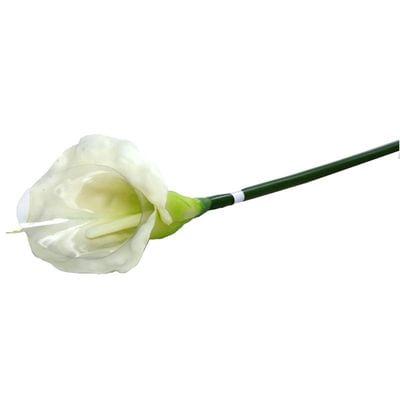 Medium Calla Lily Cream & Green
