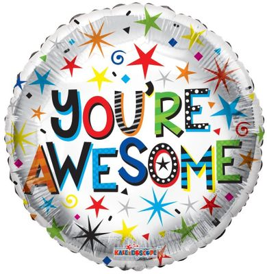 You-re Awesome Balloon – 18 Inch