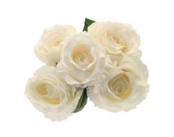 King Rose Bunch in Cream