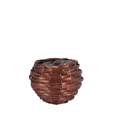 Round Woodhouse Nut Brown Basket [13 cm]
