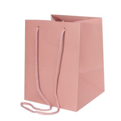 Deep Pink Hand Tie Bag [19 x 25 cm]