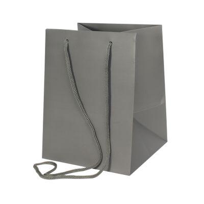 Dark Grey Hand Tie Bag [19 x 25 cm]