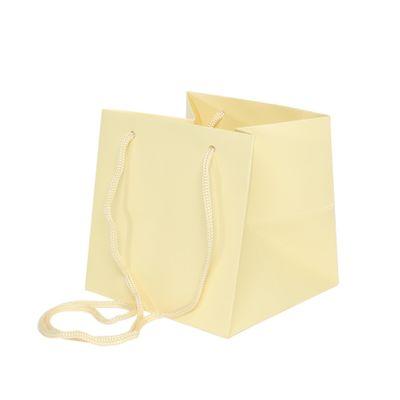 Cream Hand Tie Bag [17 x 17 cm]