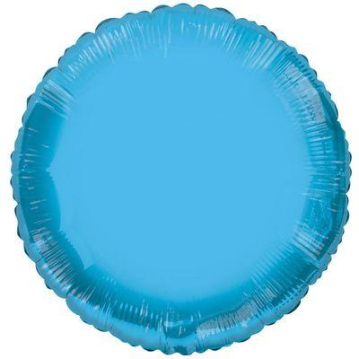 Circle Blue Balloon [18 Inches]