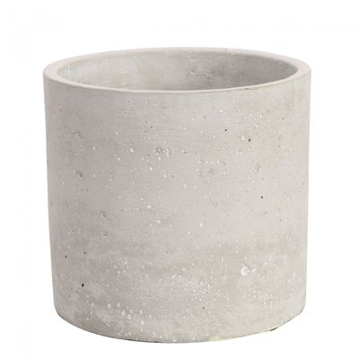 Round Cement Flower Pot 13cm