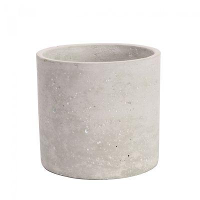 Round Cement Flower Pot 11cm