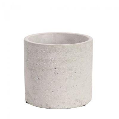 Round Cement Flower Pot 10cm