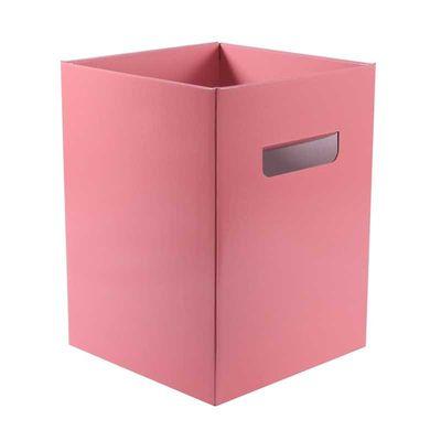 Pearlised Pastel Pink Bouquet Box – (18 x 18 x 24.5cm) [10 Boxes]