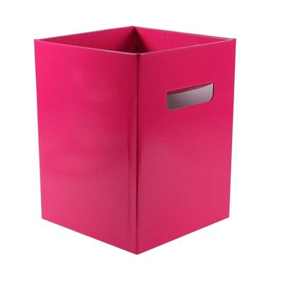 Pearlised Hot Pink Bouquet Box – (18 x 18 x 24.5cm) [10 Boxes]