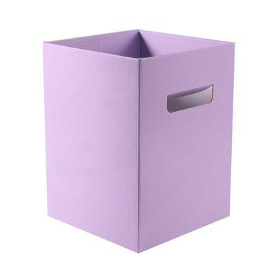 Pearlised Lavender Bouquet Box – (18 x 18 x 24.5cm) [10 Boxes]