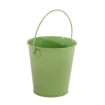 Green Zinc Drop in Bucket 9cm