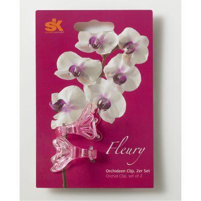 Fleury Orchid Pink Clip
