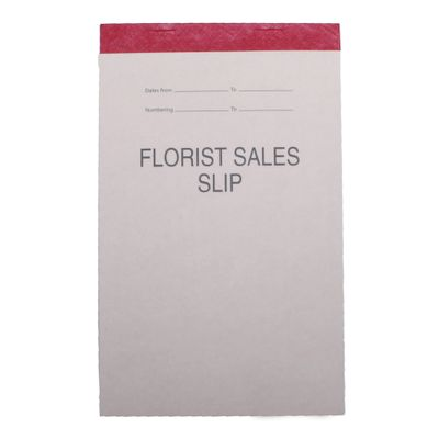 Florist Sales Slip Pad [100 Sheets]